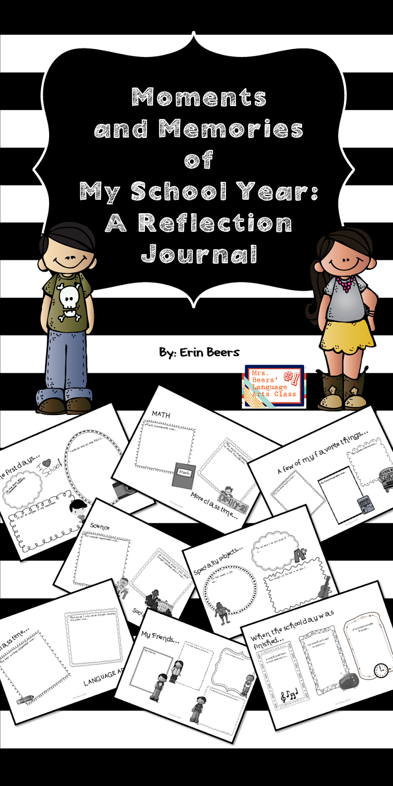 http://www.teacherspayteachers.com/Product/Memories-of-My-School-Year-NO-PREP-End-of-Year-Student-Reflection-Journal-1136893