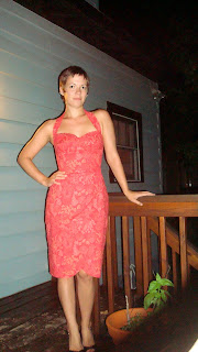 Coral Sarong Dress