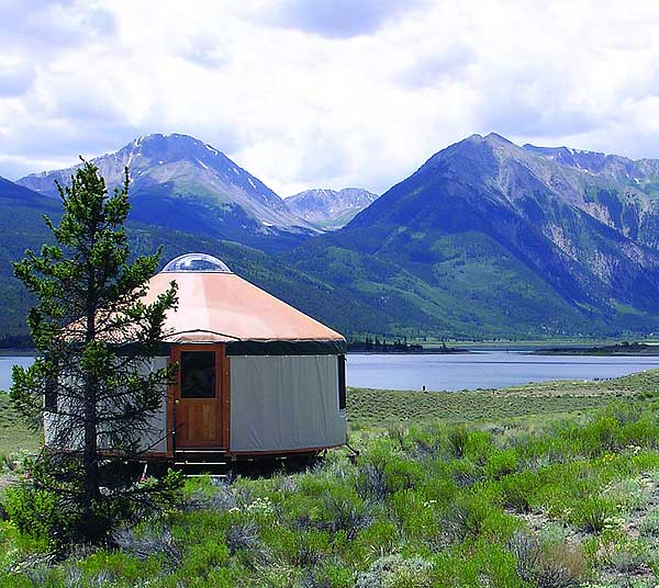 Lloyd s blog yurt on lake in colorado for Building a home in colorado