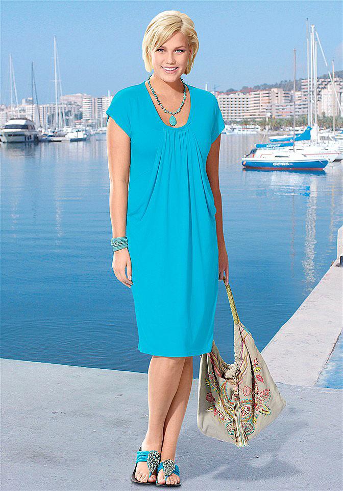 Лёгкие платья на лето для полных