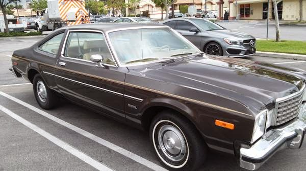 Daily Turismo 5k Brown On Brown 1979 Plymouth Volar 233 Duster