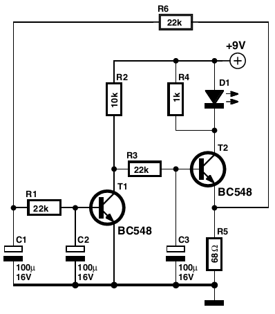 simple smooth flasher circuits projects rh circuits projects blogspot com 555 LED Flasher Circuit Diagram 555 LED Flasher Circuit Diagram