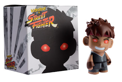 San Diego Comic-Con 20111 Exclusive Evil Ryu Street Fighter Mini Vinyl Figure by Kidrobot