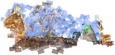 Panografie Kirmes © Mareen Fischinger