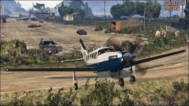 Heists GTA V - Avião novo