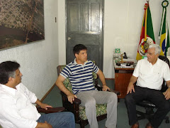 Recepção ao Major Sub-Comandante do 4º BPM de Pelotas Silvio César Gomes Cardoso