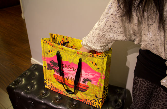 Versace for H&M, Shopping bag, Versace for H&M shopping bag