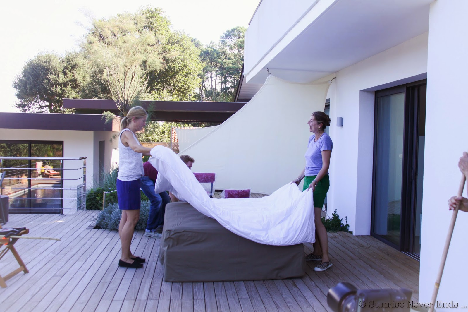 bensimon,la redoute,collaboration,été 2015,summer 2015,déco,linge de maison,hossegor,making off,lake loft hossegor