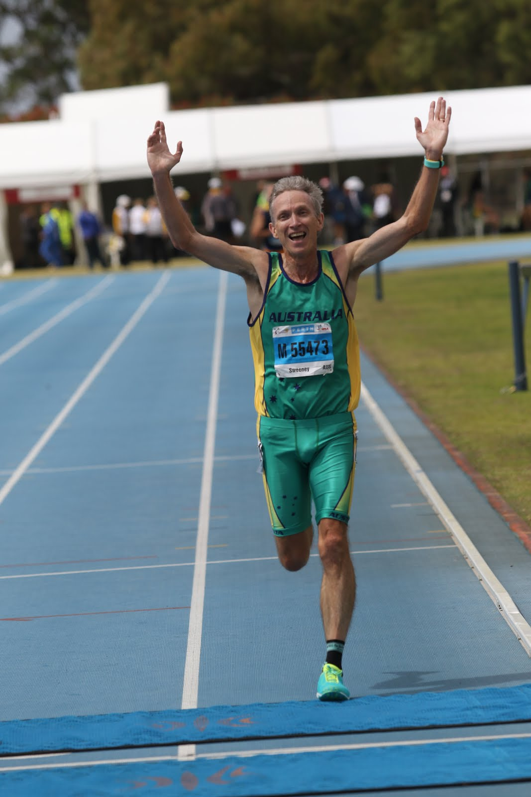 World Masters 5000m Champion 2016