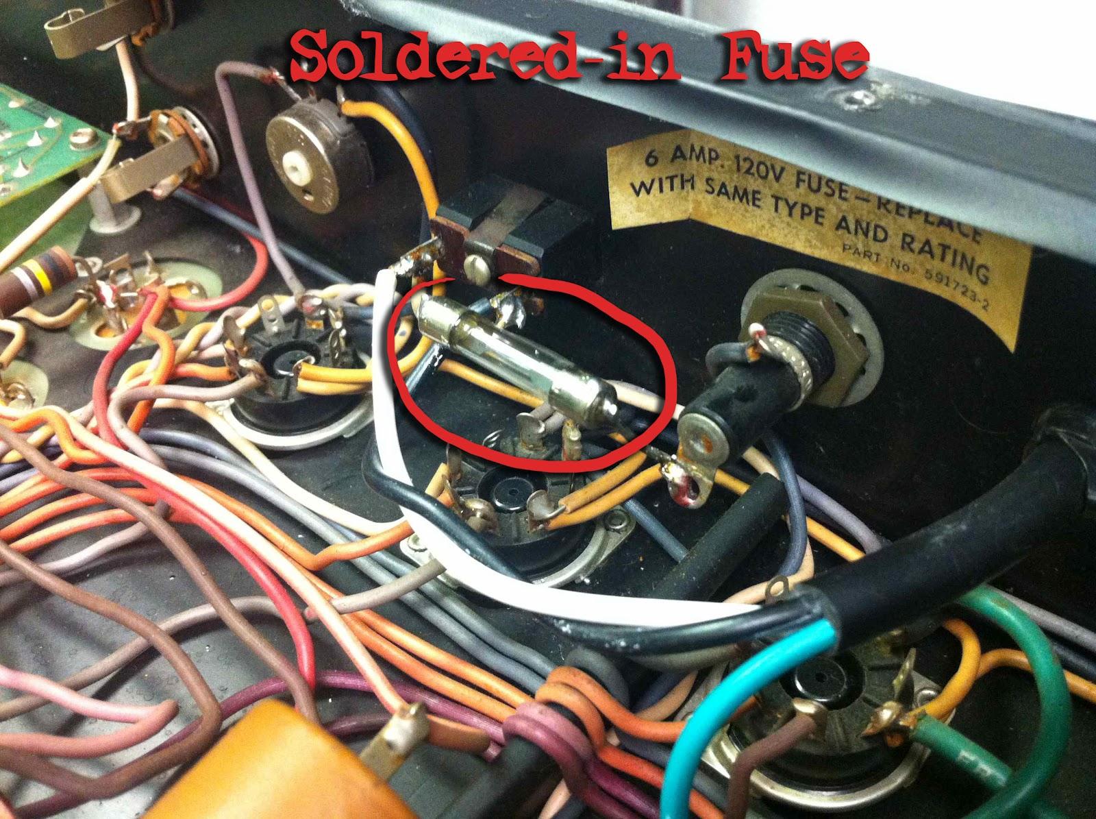Amp Repair Long Island Richie