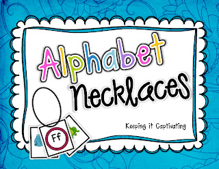 Alphabet Necklaces, Alphabet activities A-Z, Alphabet activities, letter practice, letter sound practice, letter sound activities, letter sound craft