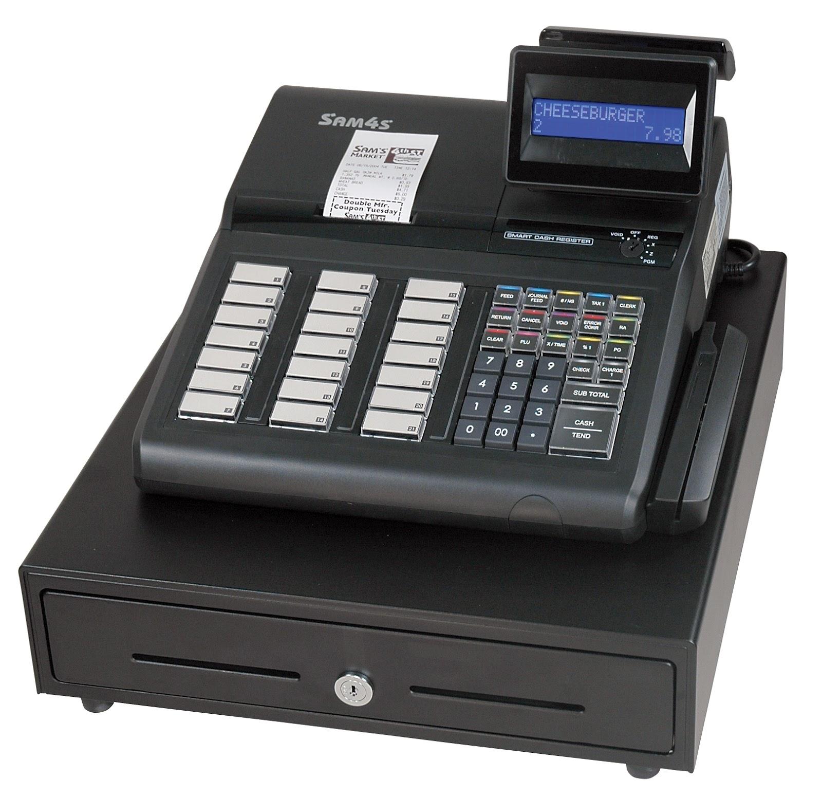 SAM4s Cash Register