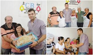 Prefeito Divaldo Soares participa do encerramento do concurso de pães na localidade de Assimim