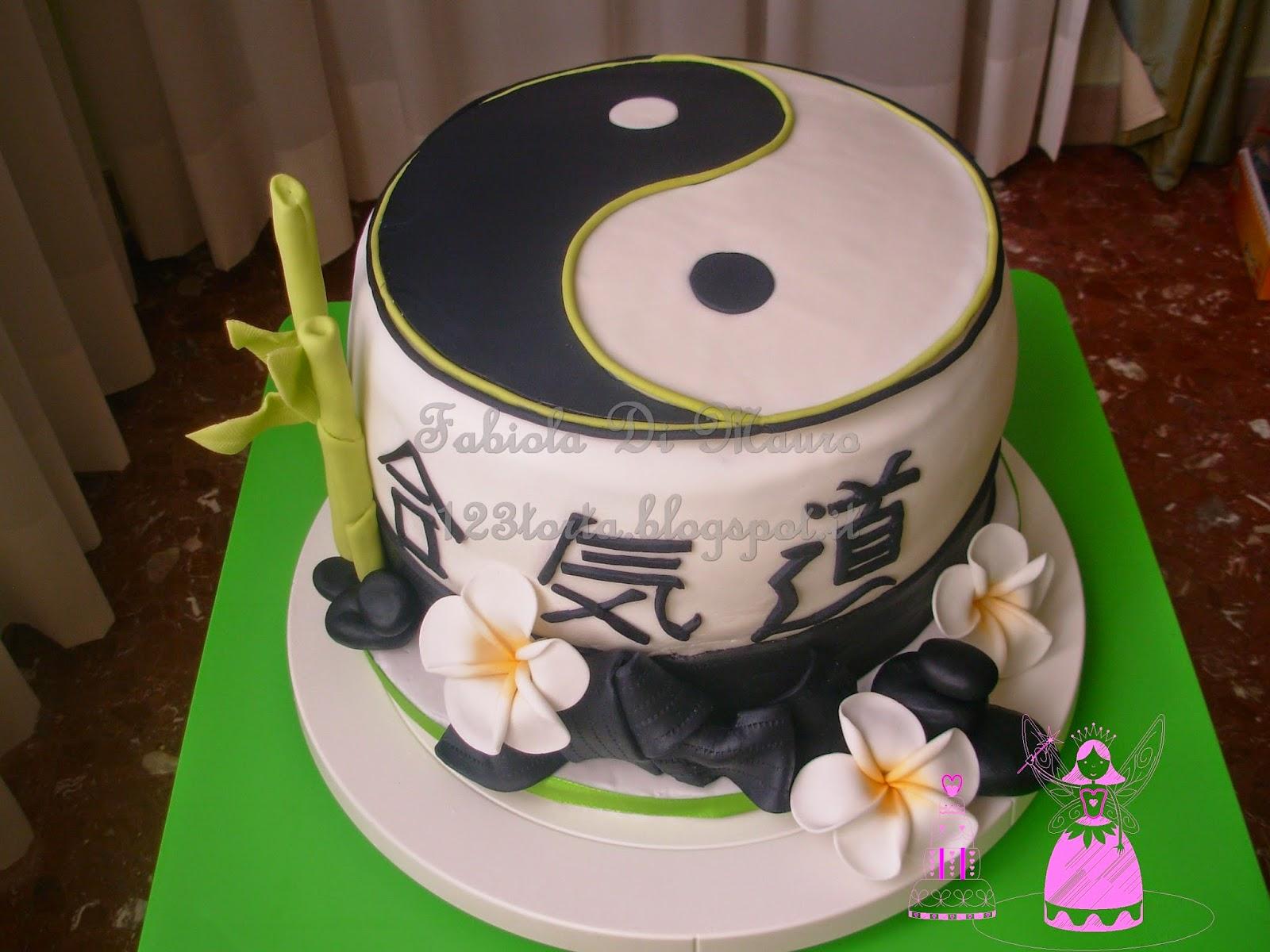 Uno due tre torta aikido armonia con la natura for Arte delle torte clementoni