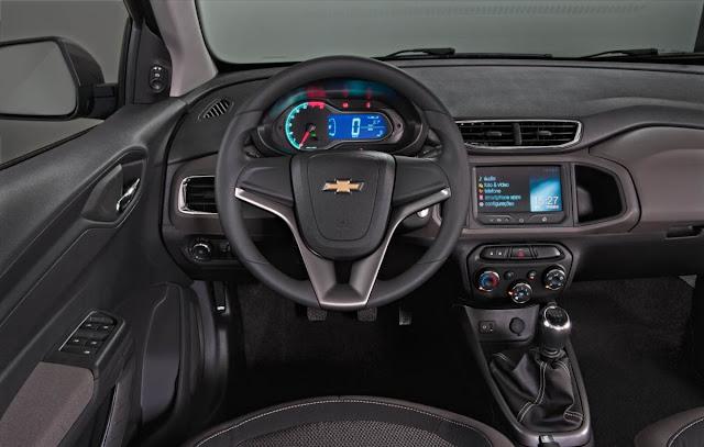 Chevrolet Prisma LTZ 1.4 - painel