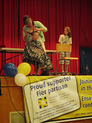 Head Shave Event by Ethan and Jackson