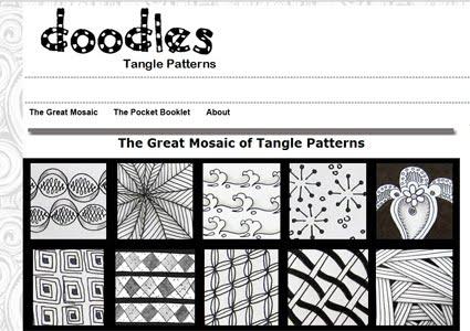 Tangle Brasil Awesome Tangle Patterns