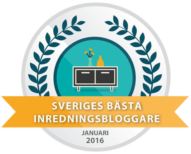 Sveriges bästa inredningsbloggare