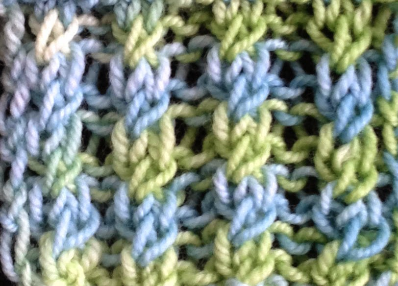 Knitting Stitches For Ribbing : Cross Stitch Ribbing The Weekly Stitch