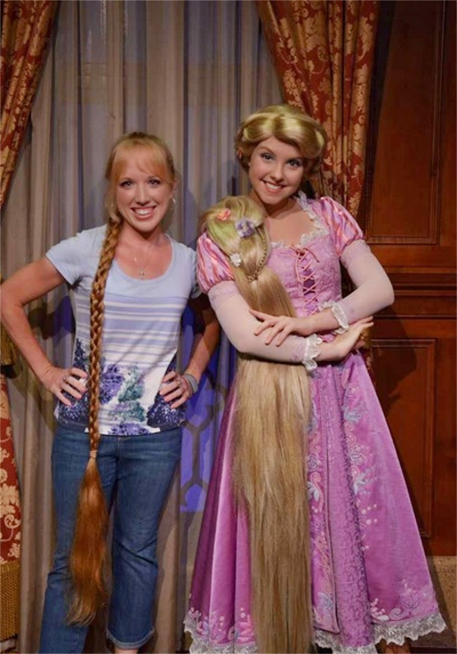 Length Pictures with Rapunzel