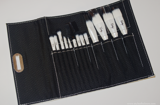 Nanshy Luxury Makeup Brush Set Review