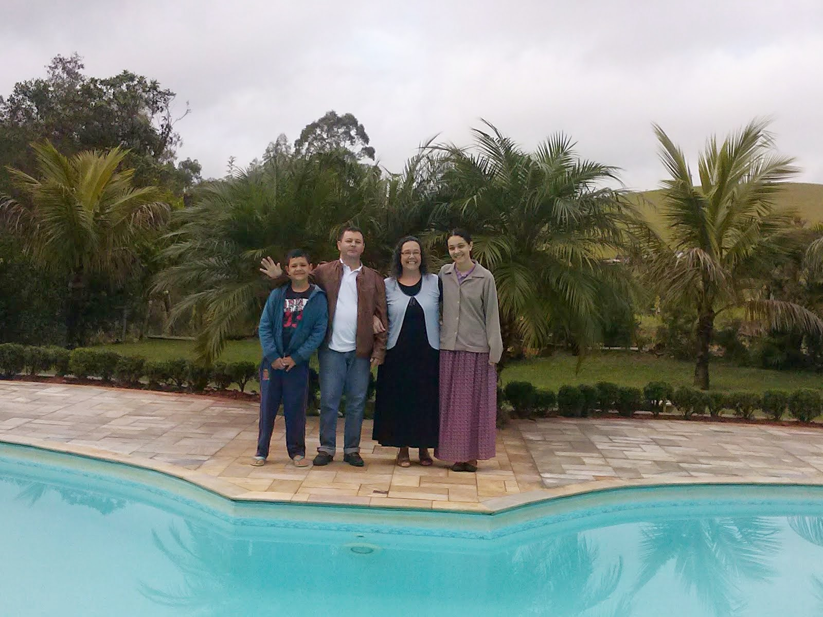 Minha família que tanto amo!