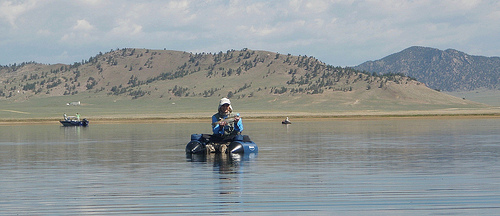Fly fish addiction antero reservoir draining it 39 s water for Antero reservoir fishing report