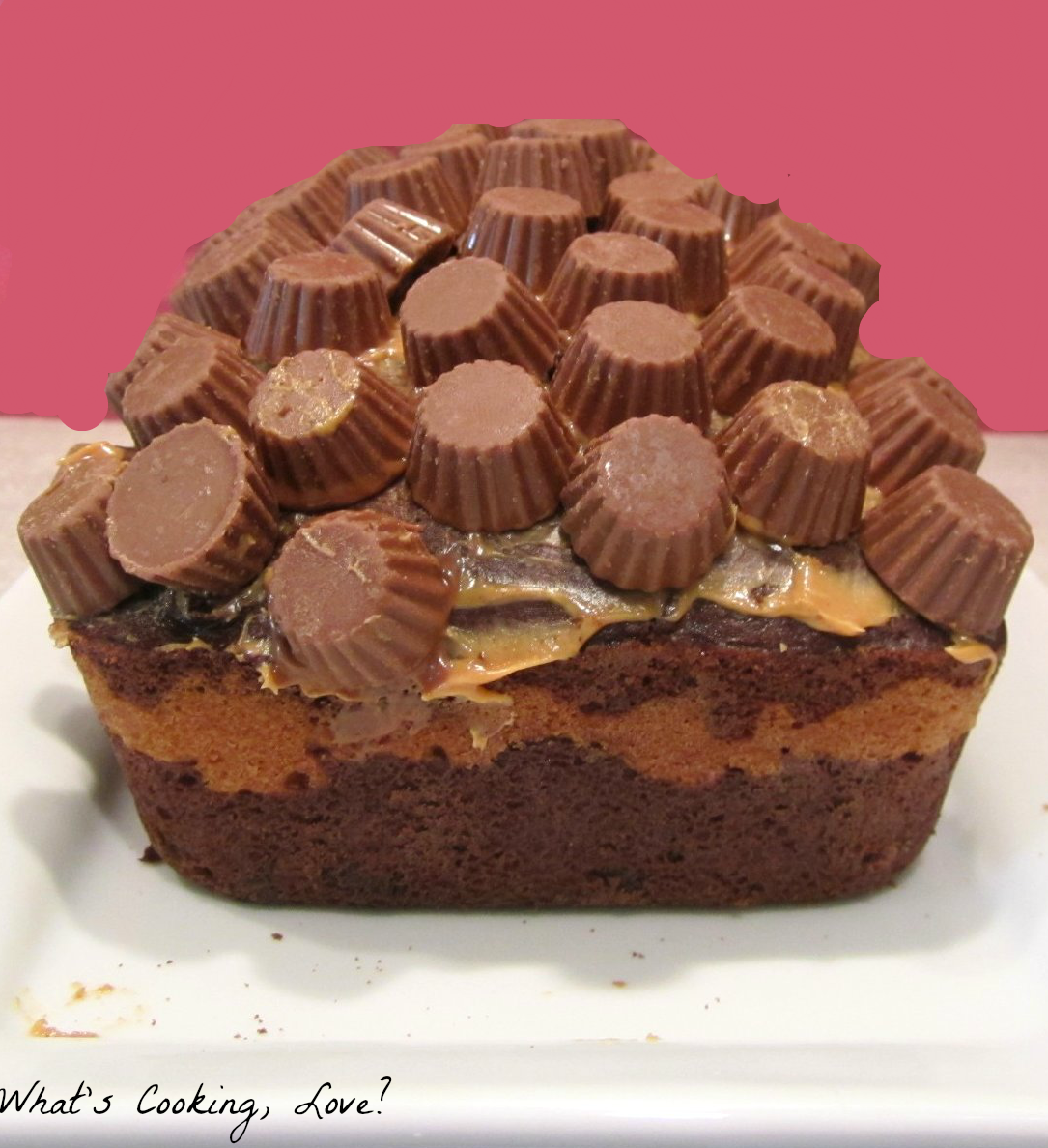 Peanut Butter Cup Bread - Whats Cooking Love?