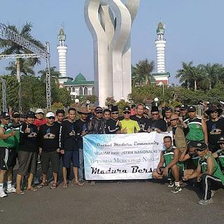Sehat itu Murah, Komunitas Onthel Madura, Komunitas Onthel Indonesia, Komunitas Onthel Jawa Timur 2015