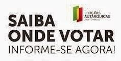 Locais de voto