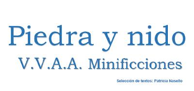 Piedra y nido. V.V.A.A. minificciones. Selección de textos Patricia Nasello