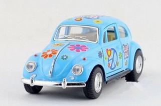 Vos Vos Oyuncak Metal Araba Hediye Volkswagen Beetle
