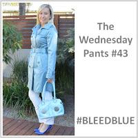Sydney Fashion Hunter - The Wednesday Pants #43 - Bleed Blue