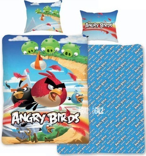 Brand new Angry Birds Cliffhanger Duvet Cover set