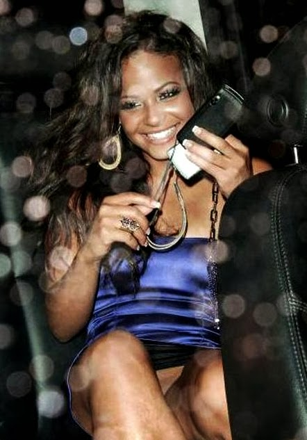 Young black teen cam girl