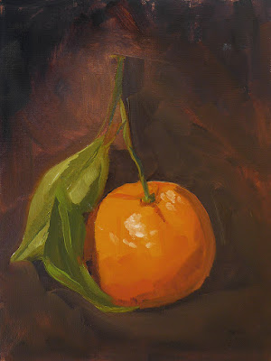 No. 348 - Orange with Two Leaves