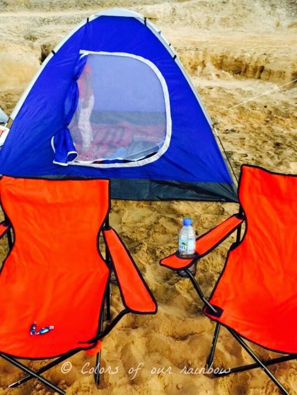 Camping in Umm Al Quwain @Colorsofourrainbow.blogspot.ae