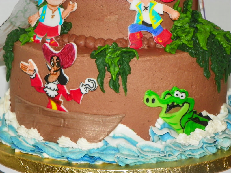 jake and the neverland pirates tiered cake - photo #27