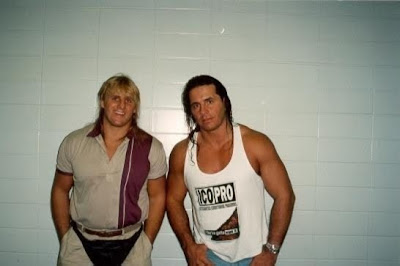 Owen Hart And Bret Hart Famer bret �hit man� hart said