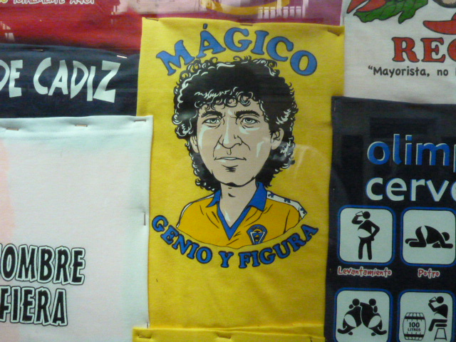 camiseta Mágico Genio y Figura