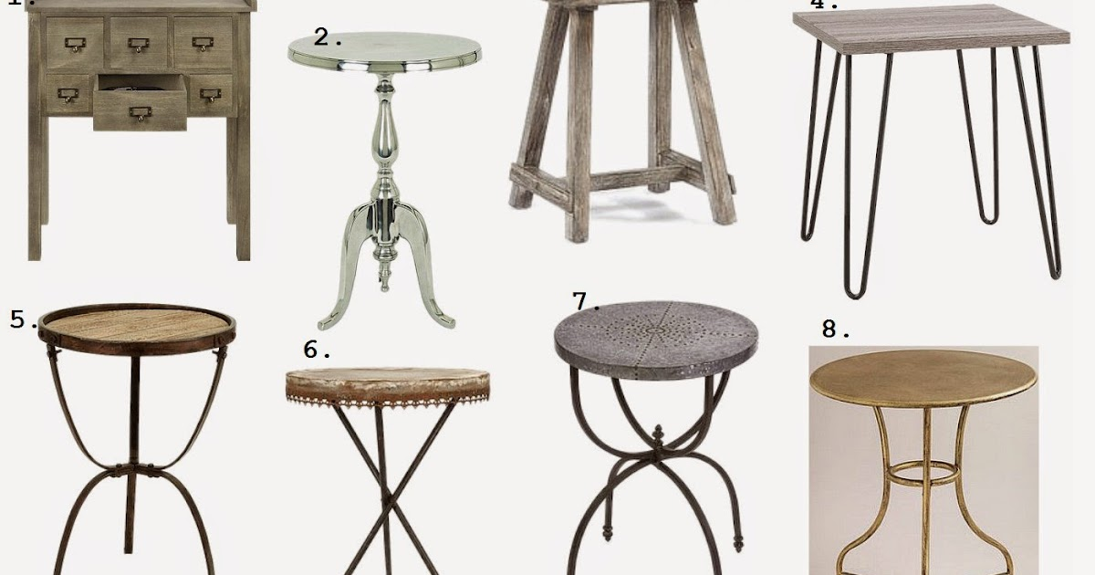 Whimsy Girl Friday Finds Accent Tables Under 100