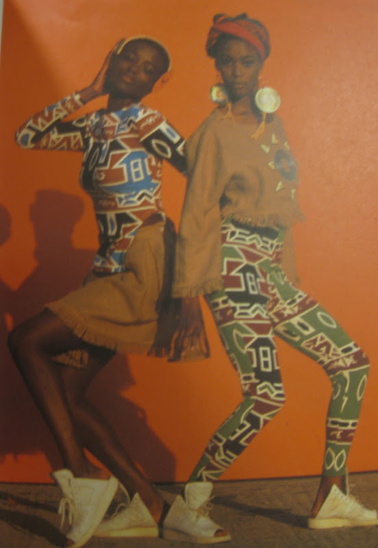African motifs from Rifat Ozbek title=