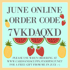 Hostess Code for your June Stampin' Up! Shopping