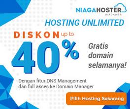 hosting domain murah niaga hoster
