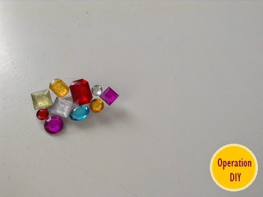 gemstones pin operation diy