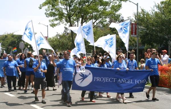 Project Angel Food LA Pride Parade 2013