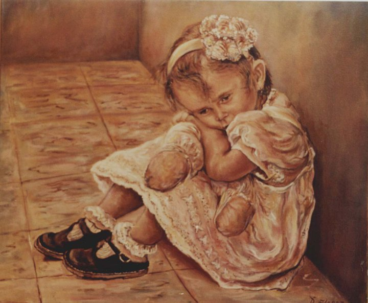 Dorian Florez 1960 | Colombian painter | Paternity