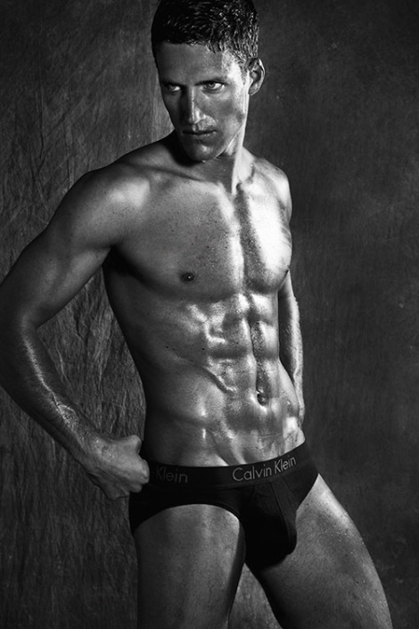 Tyler Kenyon wearing Calvin Klein Briefs