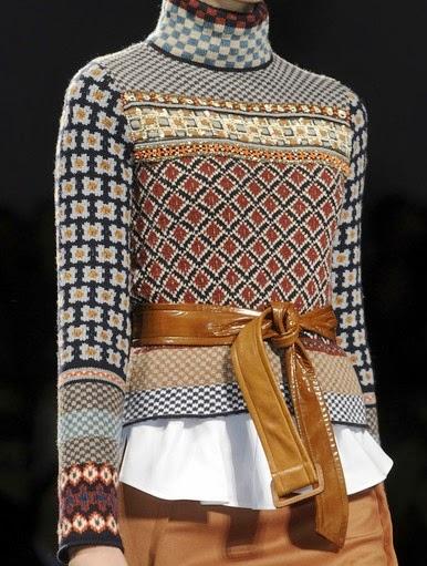 sweter w genialnych kolorach