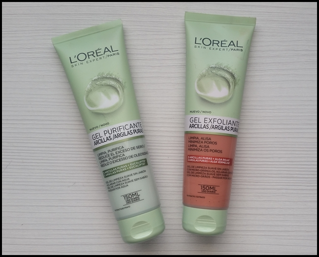 Mi cajón desastre: Geles de limpieza facial 3 arcillas puras de L\'Oréal